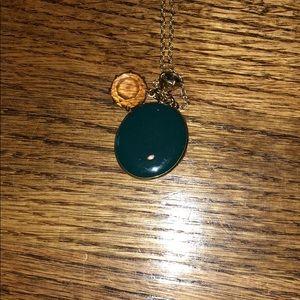 J.Crew Locket Necklace